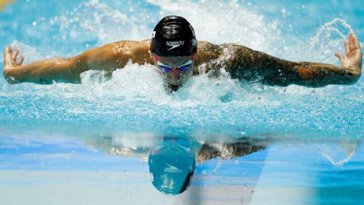 Amerikanska simmaren Caeleb Dressel.
