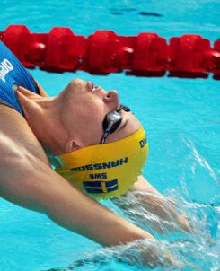 Simmaren Louise Hansson